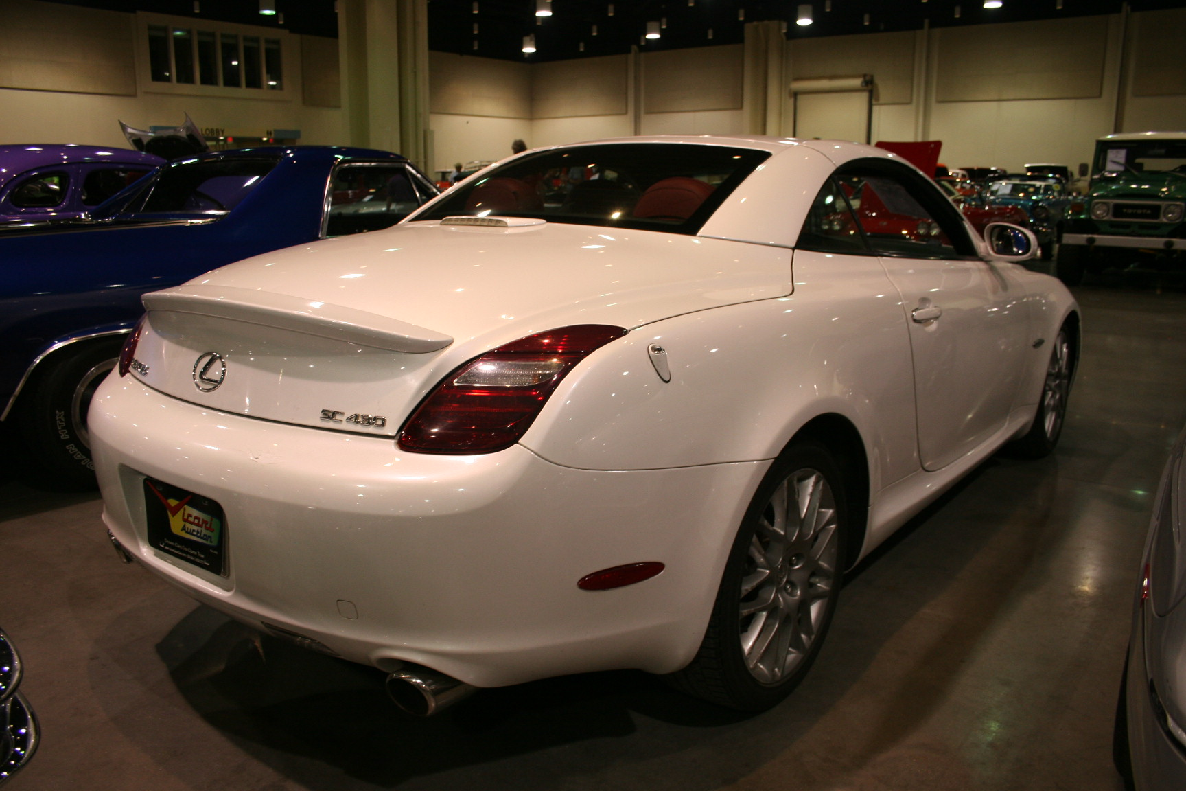 10th Image of a 2007 LEXUS SC 430