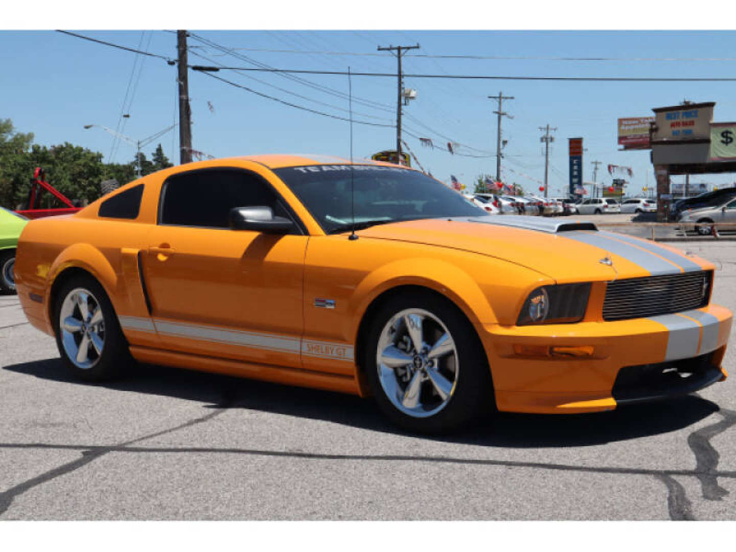 7th Image of a 2008 FORD MUSTANG