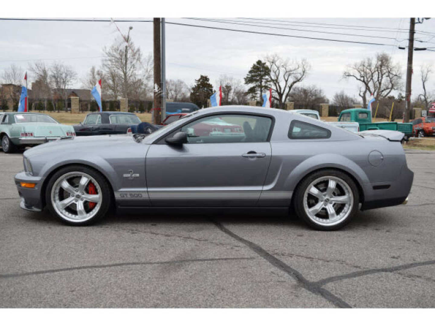 16th Image of a 2007 FORD MUSTANG SHELBY GT500