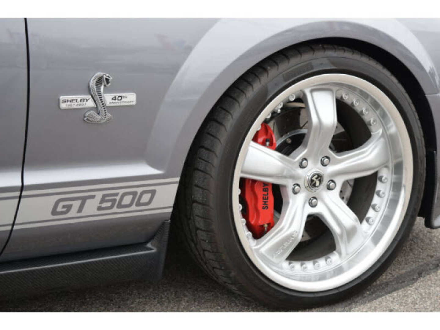 7th Image of a 2007 FORD MUSTANG SHELBY GT500