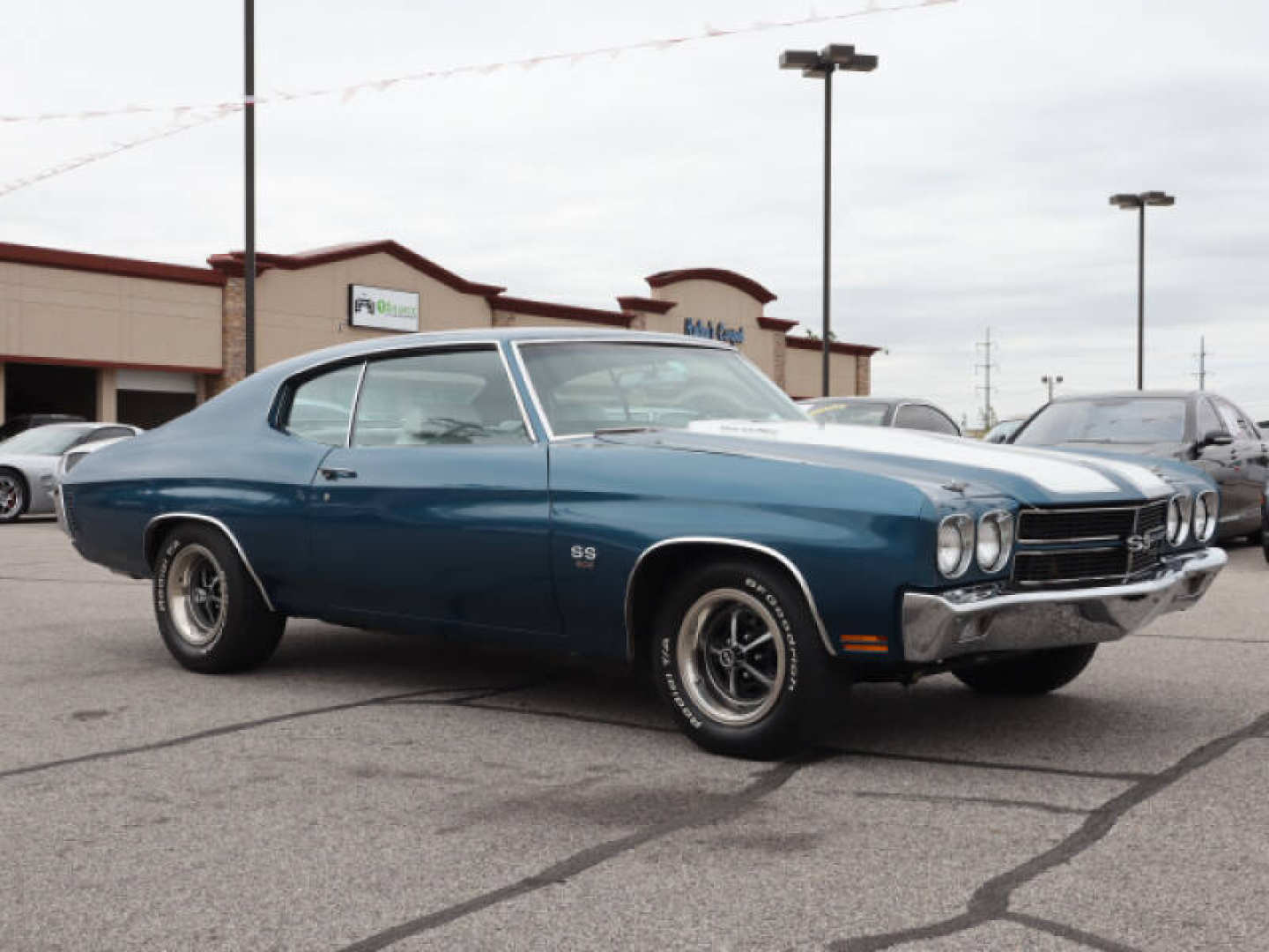 12th Image of a 1970 CHEVROLET CHEVELLE