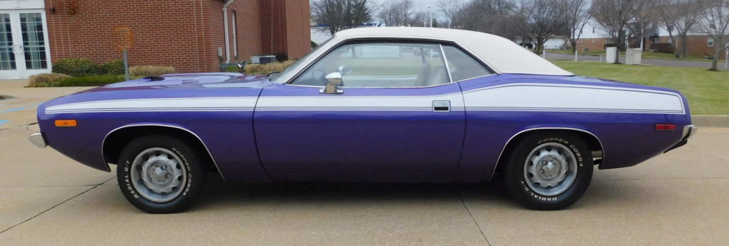 3rd Image of a 1973 PLYMOUTH CUDA