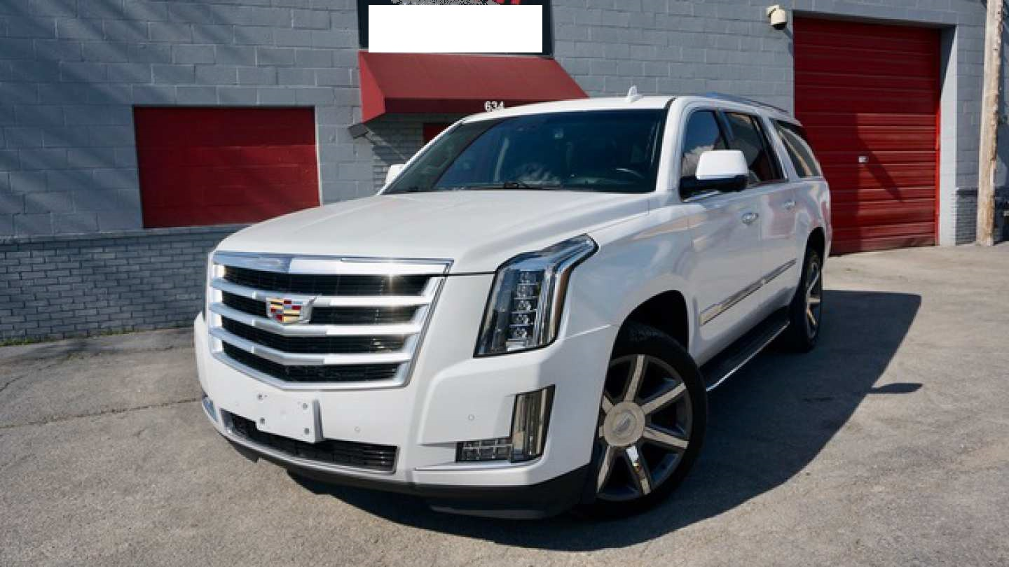 1st Image of a 2016 CADILLAC ESCALADE ESV LUXURY