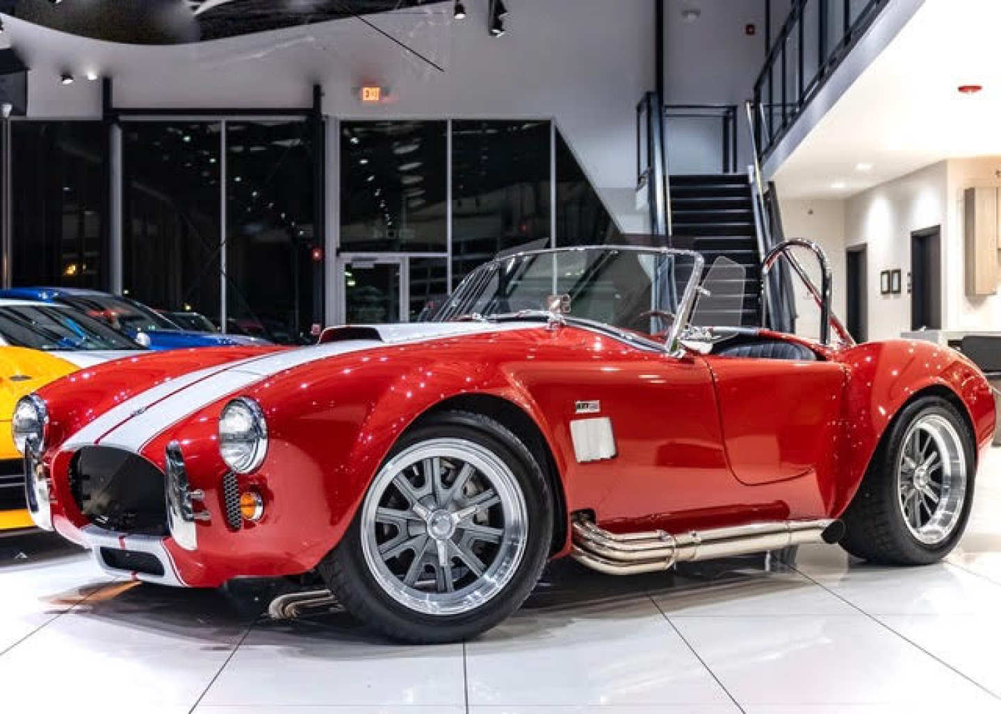 6th Image of a 1965 FACTORY FIVE RACING SHELBY COBRA MKIV