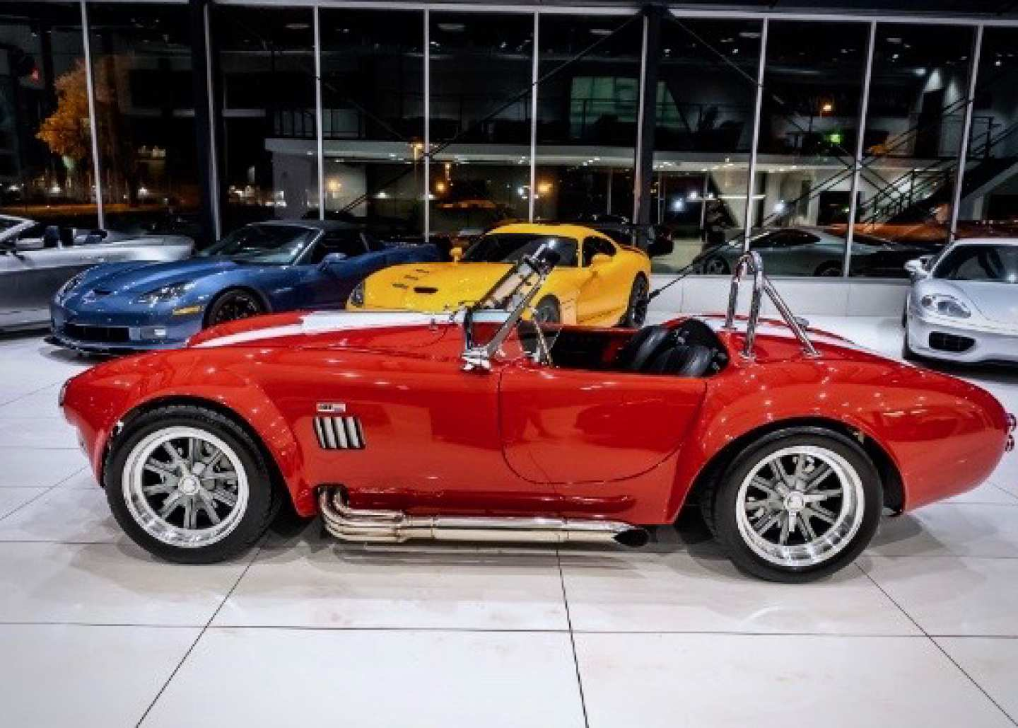 4th Image of a 1965 FACTORY FIVE RACING SHELBY COBRA MKIV