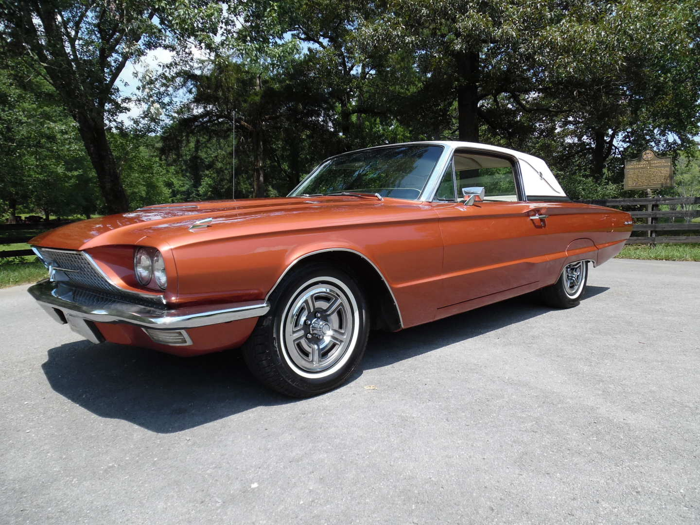 9th Image of a 1966 FORD THUNDERBIRD