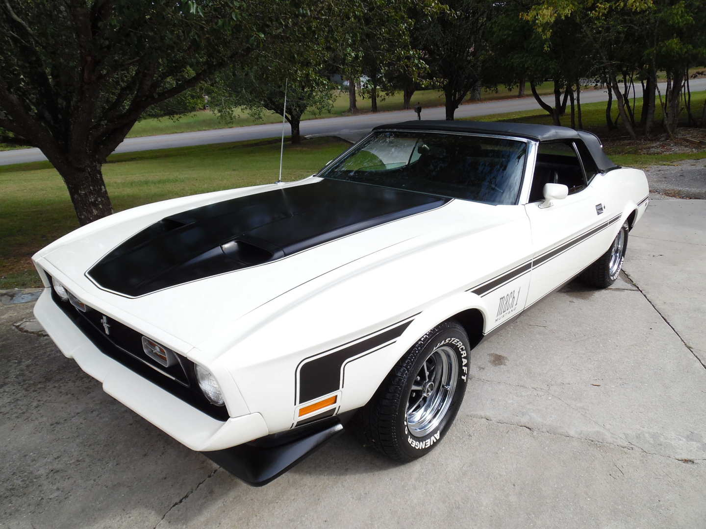 8th Image of a 1972 FORD MUSTANG
