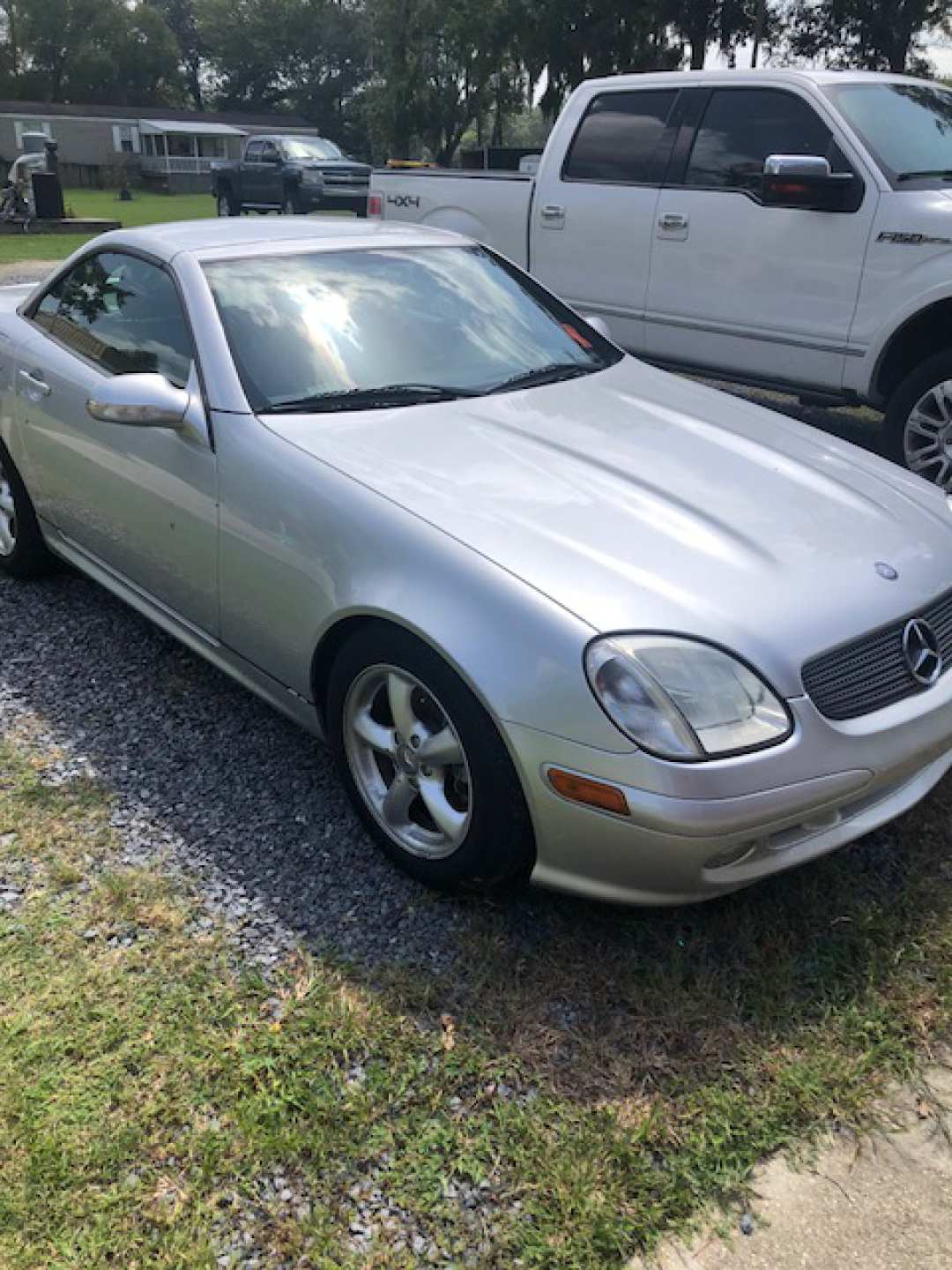 4th Image of a 2001 MERCEDES-BENZ SLK-CLASS SLK320