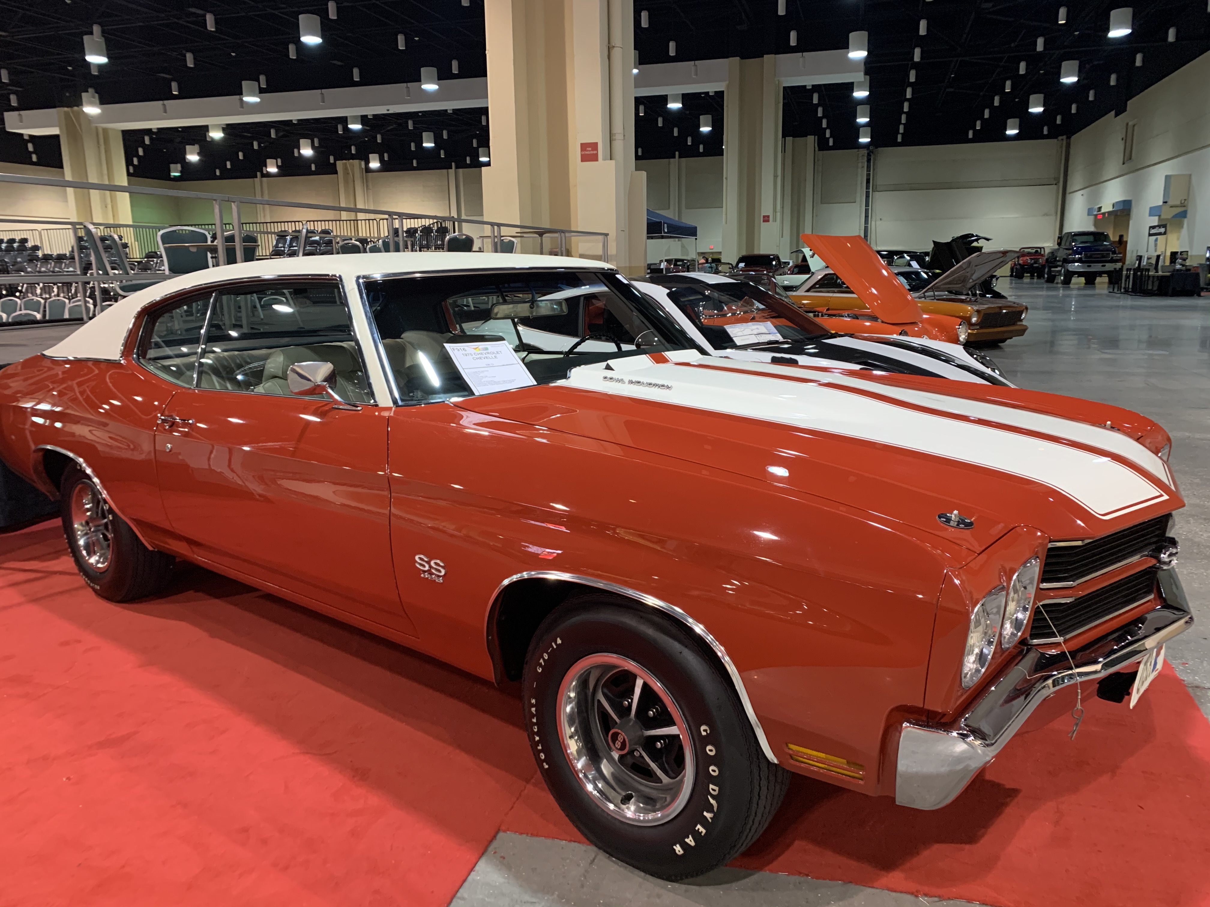 3rd Image of a 1970 CHEVROLET CHEVELLE