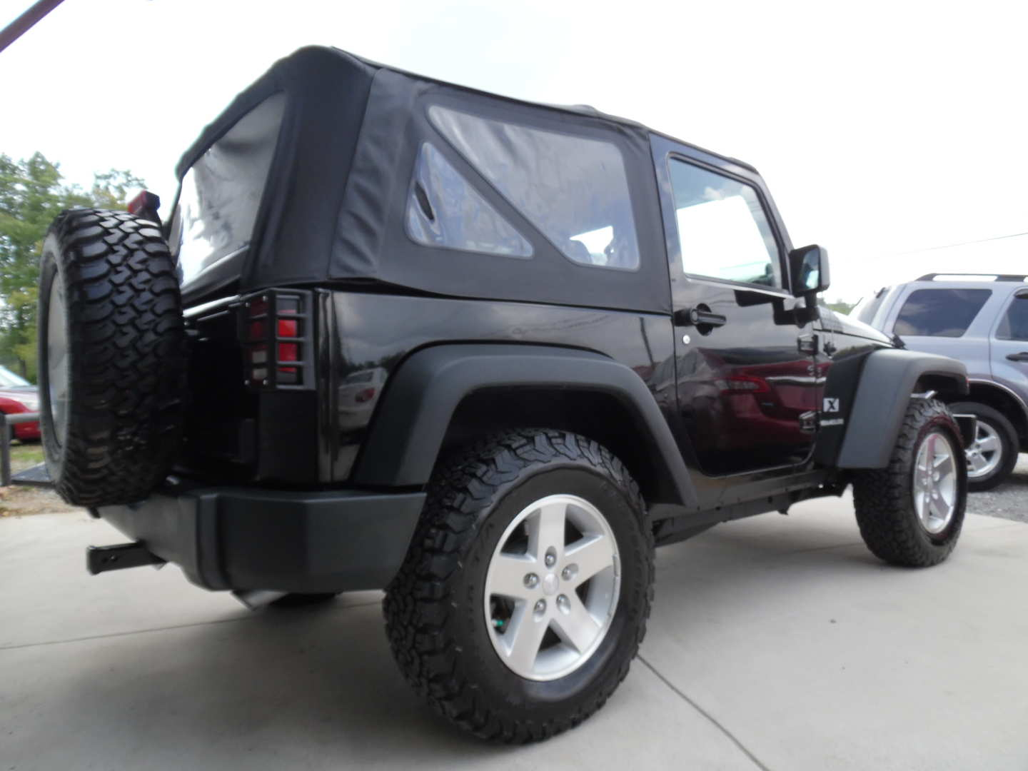4th Image of a 2008 JEEP WRANGLER X