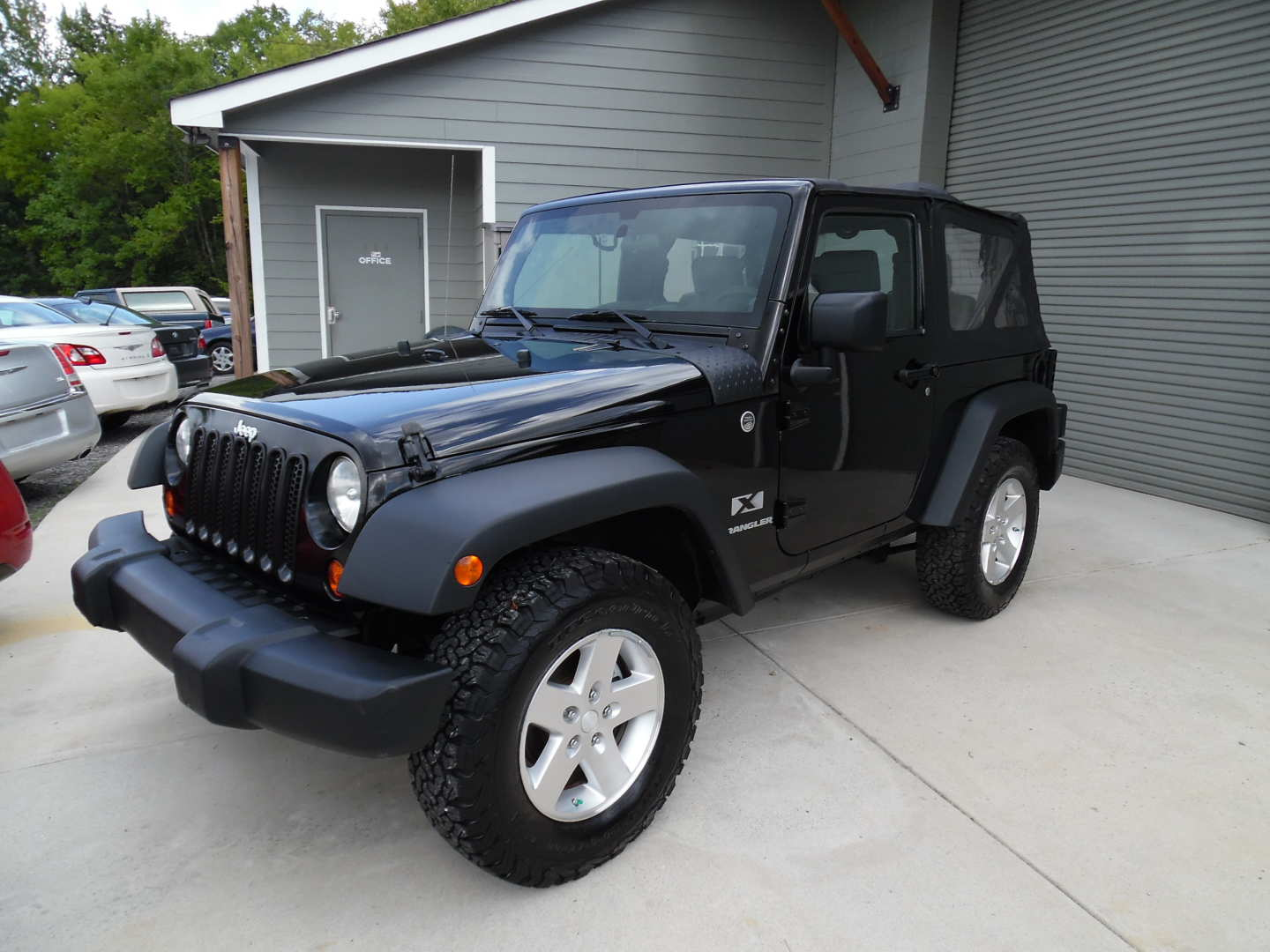 5th Image of a 2008 JEEP WRANGLER X