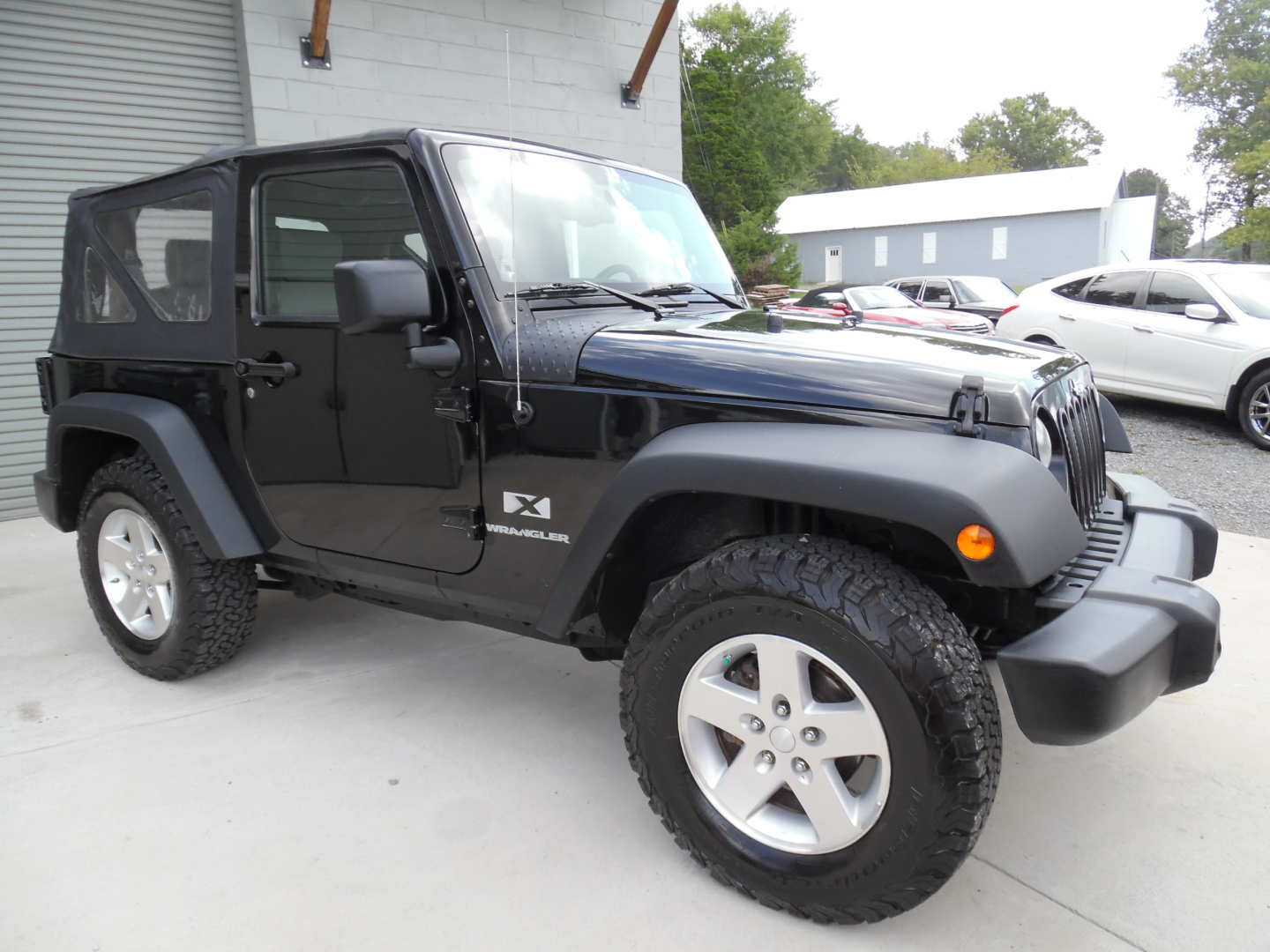 6th Image of a 2008 JEEP WRANGLER X