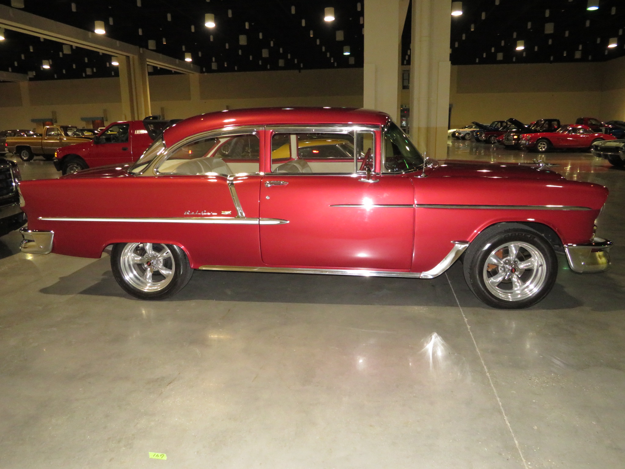 3rd Image of a 1955 CHEVROLET BELAIR