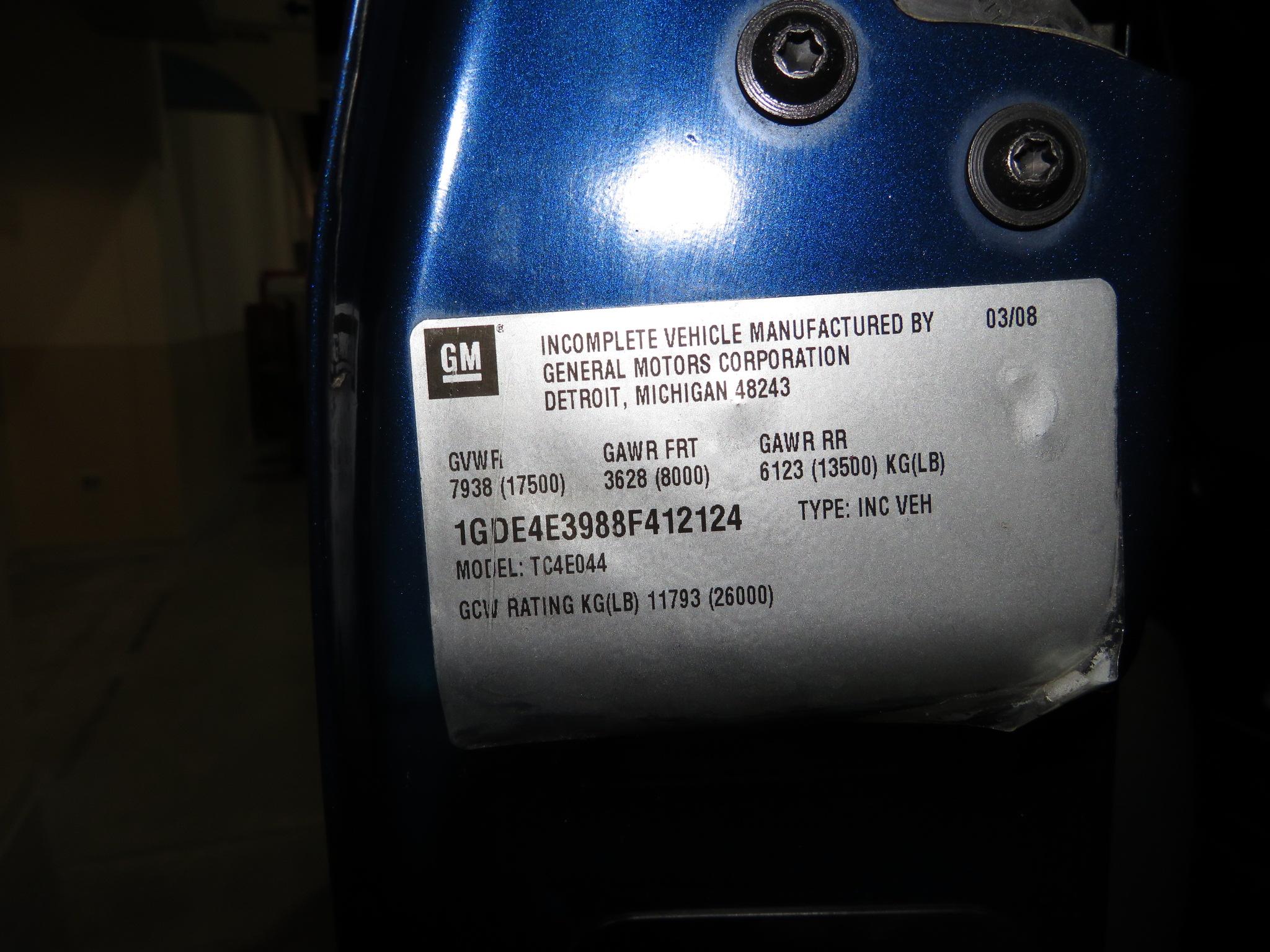 17th Image of a 2008 GMC C4500 C