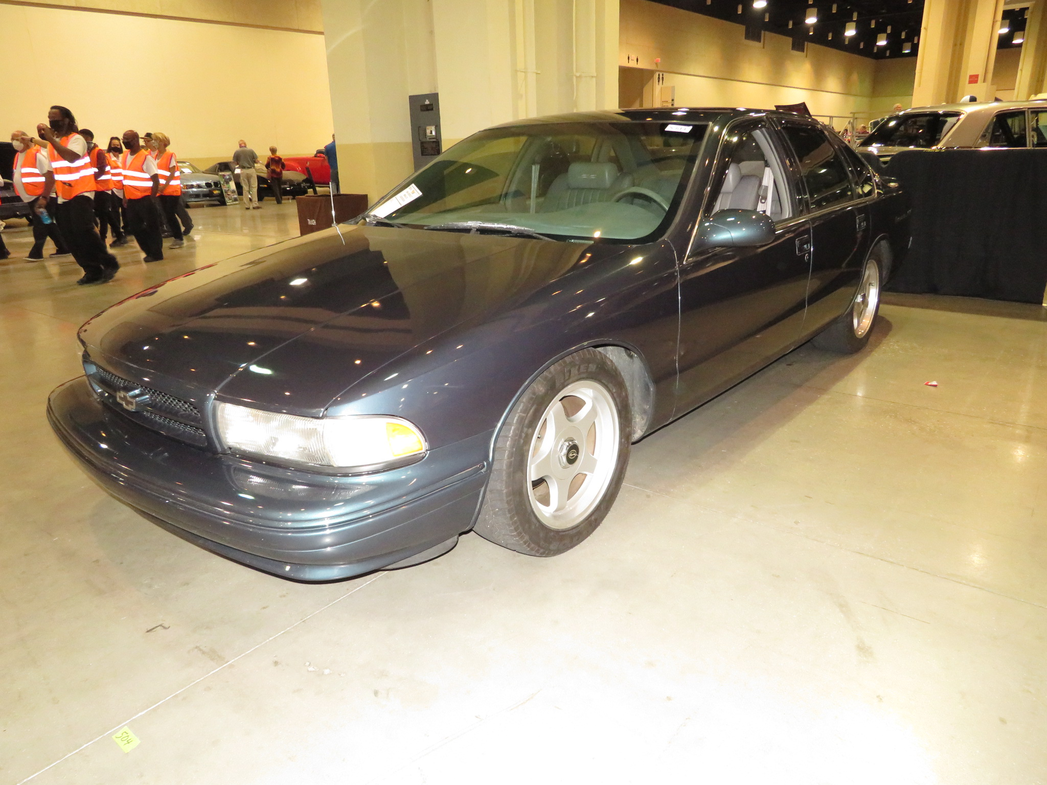 3rd Image of a 1996 CHEVROLET IMPALA SS
