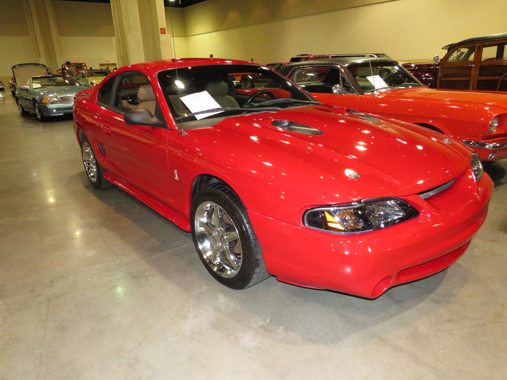 2nd Image of a 1994 FORD MUSTANG GT