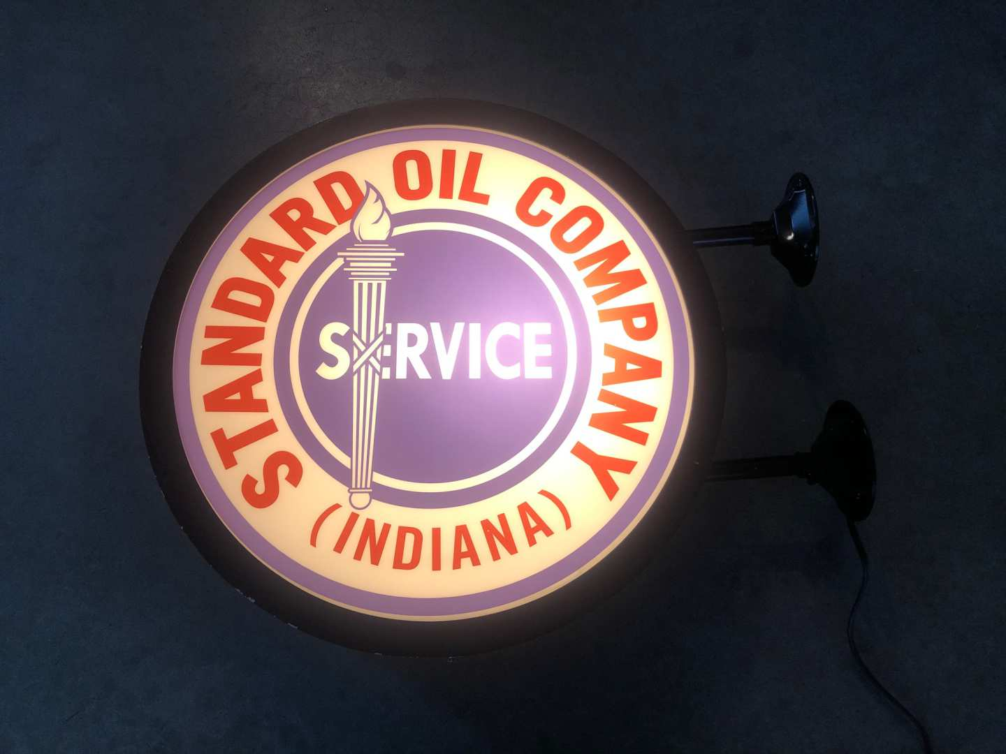 1st Image of a N/A STANDARD OIL COMPANY LIGHTED SIGN
