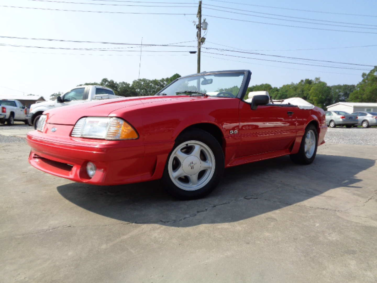 3rd Image of a 1993 FORD MUSTANG GT