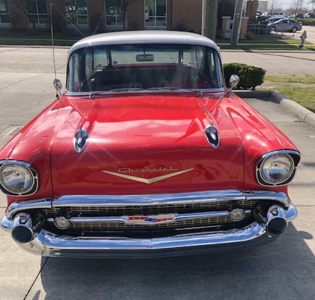 3rd Image of a 1957 CHEVROLET NOMAD