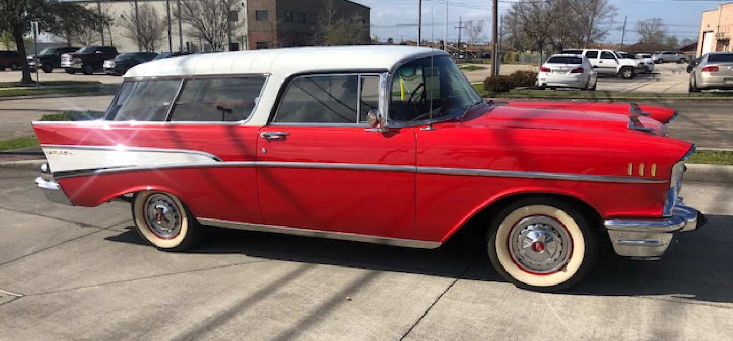 4th Image of a 1957 CHEVROLET NOMAD