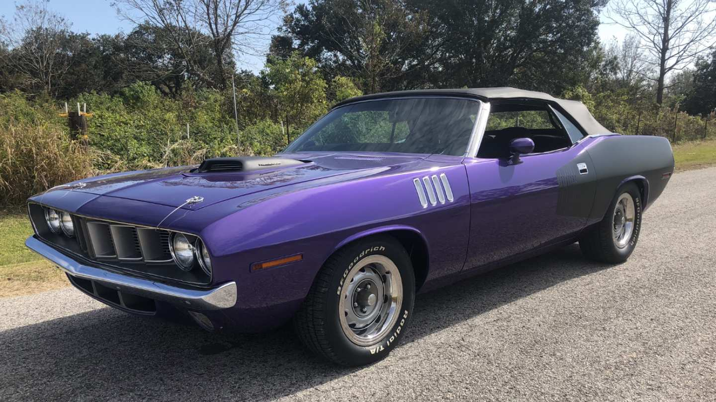 3rd Image of a 1971 PLYMOUTH BARRACUDA