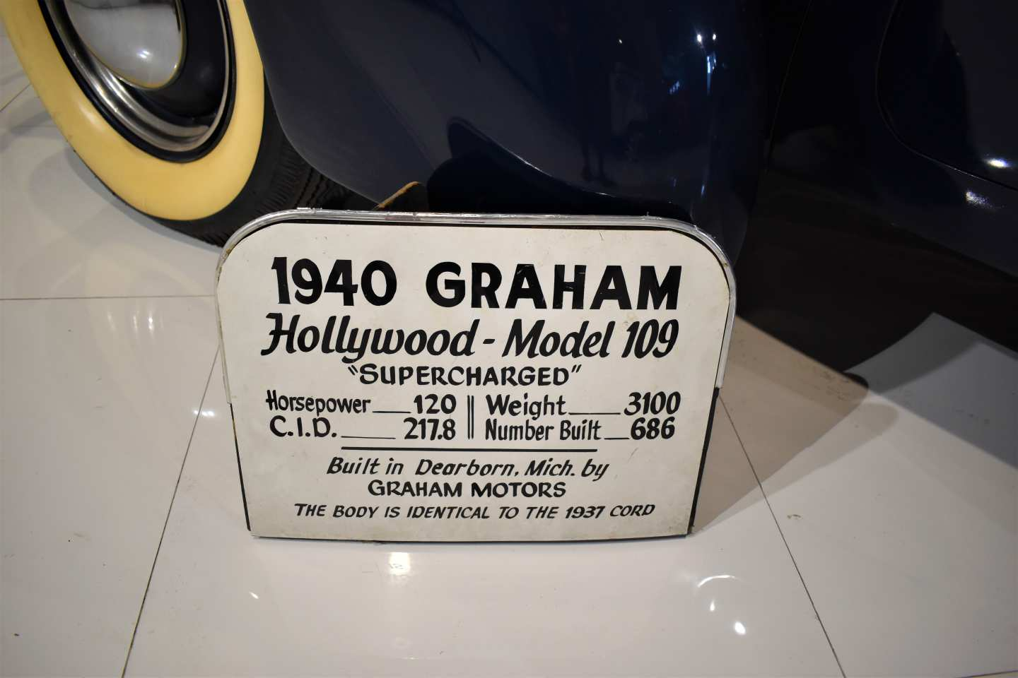 19th Image of a 1940 GRAHAM HOLLYWOOD MODEL 109