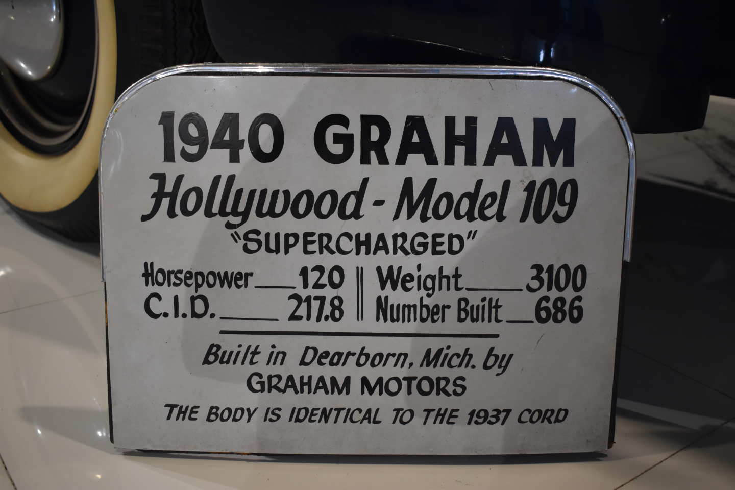 20th Image of a 1940 GRAHAM HOLLYWOOD MODEL 109
