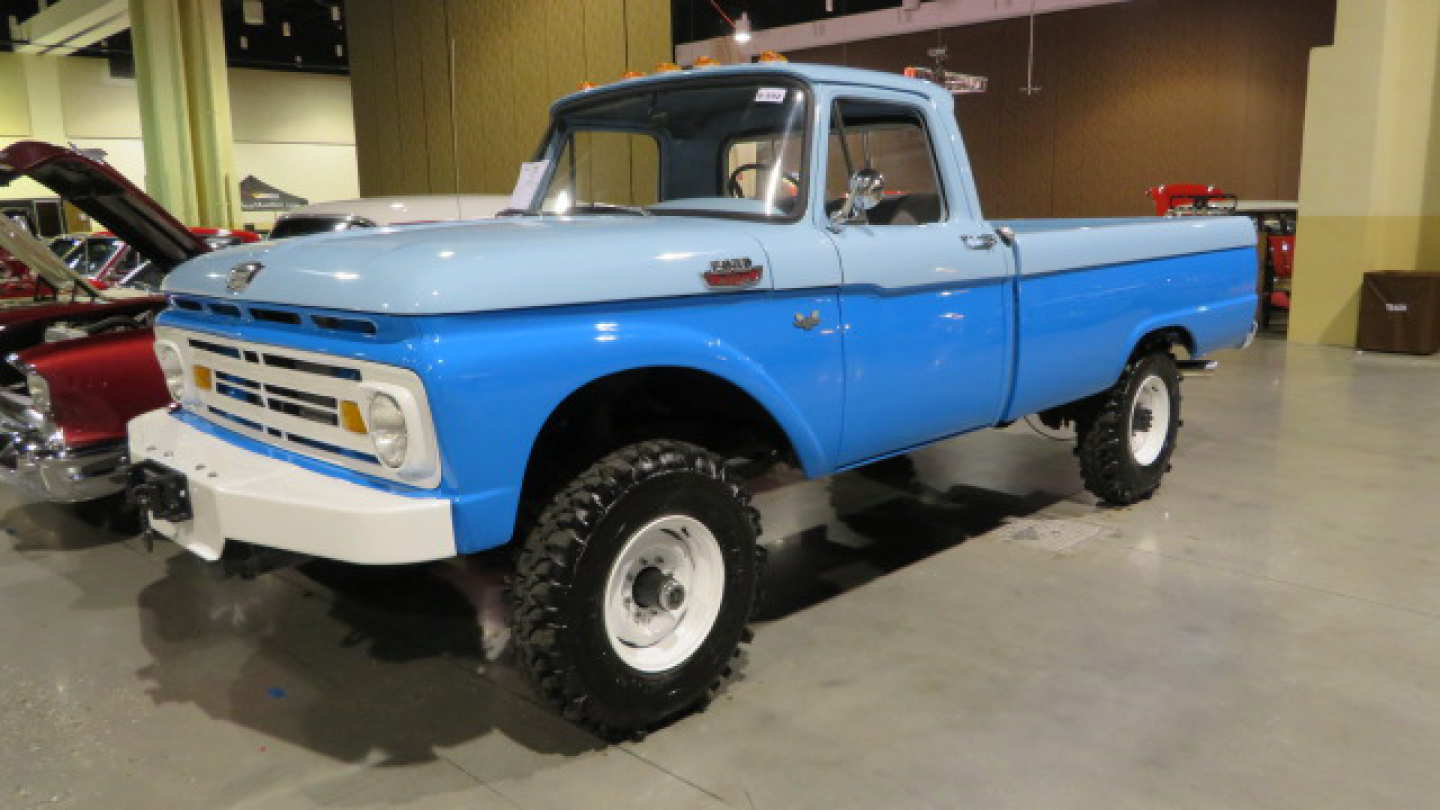 1st Image of a 1962 FORD F250