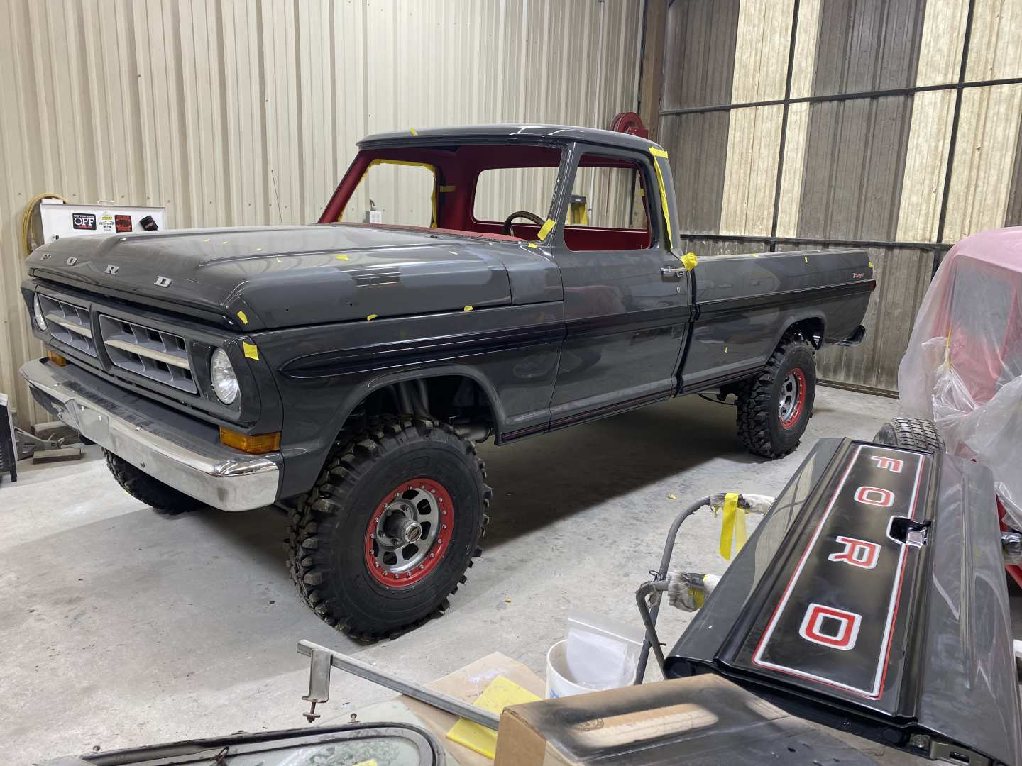 2nd Image of a 1971 FORD F100