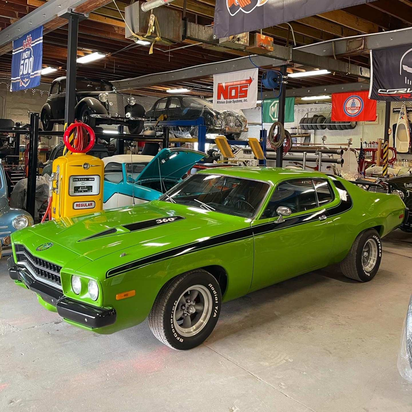 6th Image of a 1973 PLYMOUTH ROADRUNNER