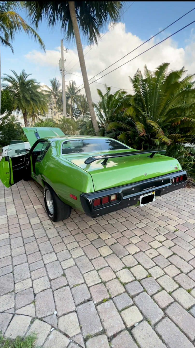 7th Image of a 1973 PLYMOUTH ROADRUNNER