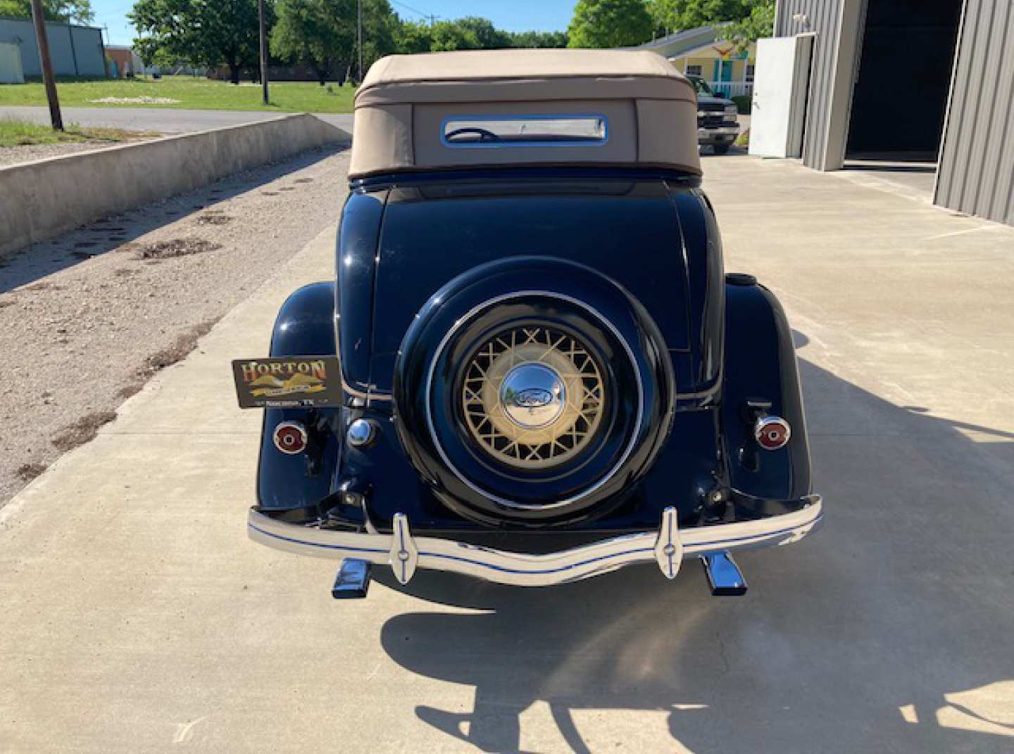 4th Image of a 1934 FORD CABRIOLET