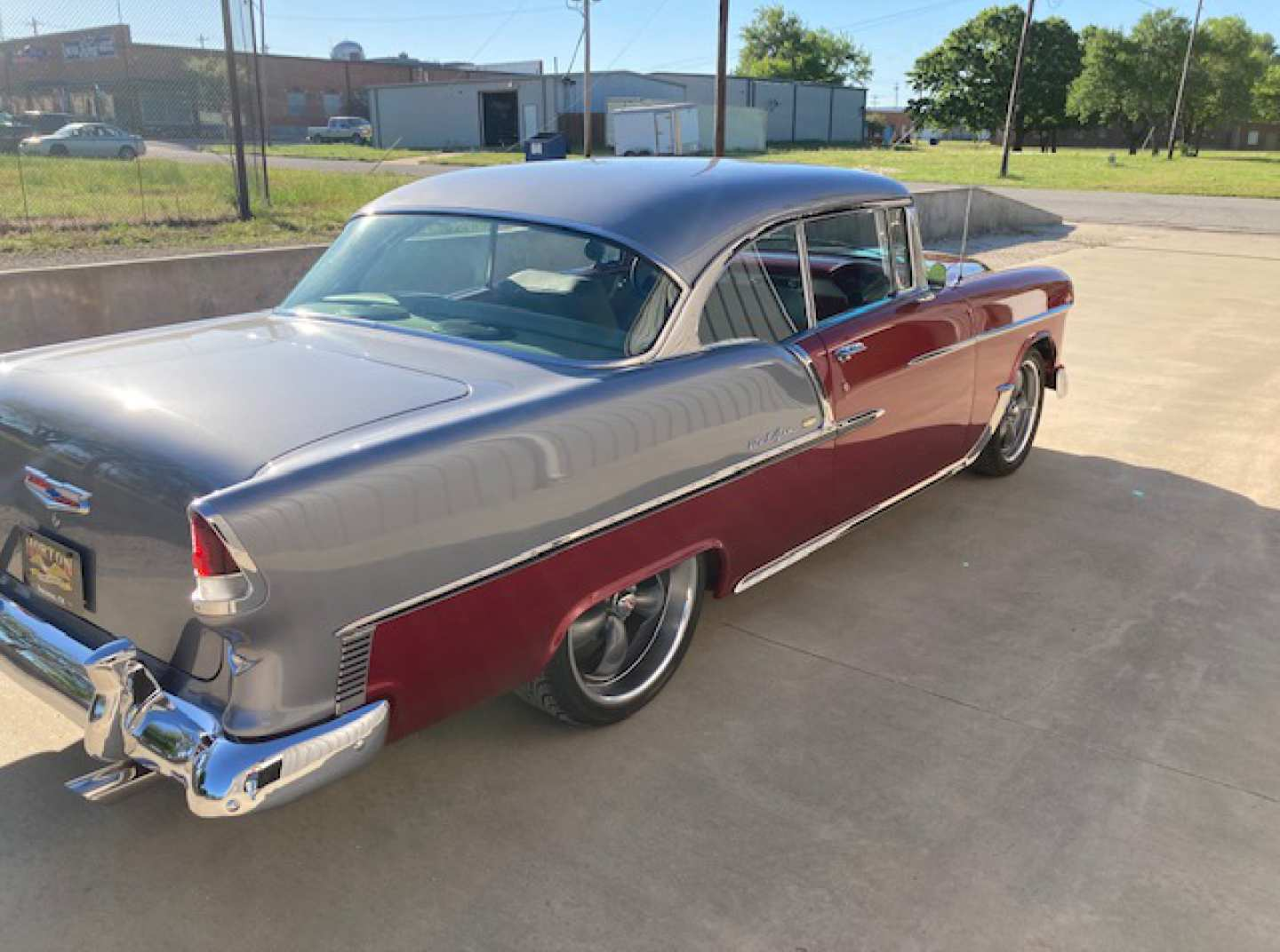 4th Image of a 1955 CHEVROLET BELAIR