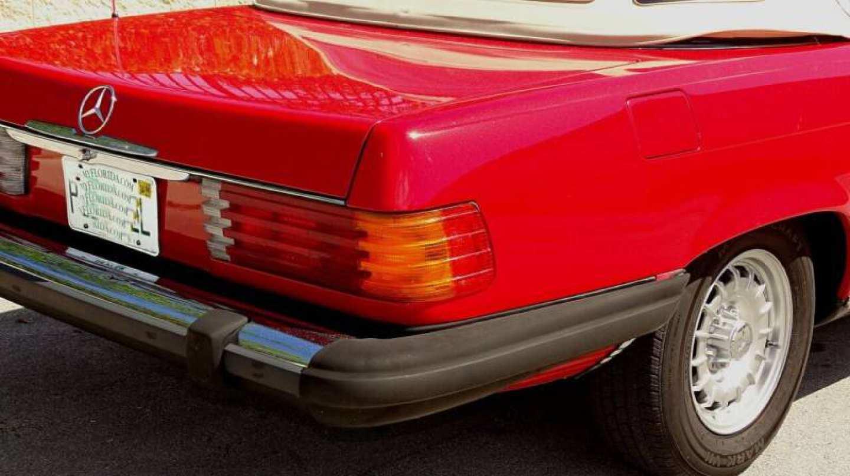 9th Image of a 1985 MERCEDES-BENZ 380SL