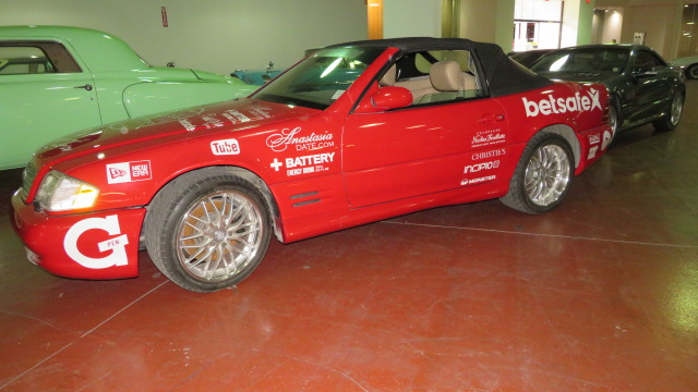 2nd Image of a 1999 MERCEDES-BENZ SL500