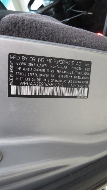4th Image of a 2004 PORSCHE 911