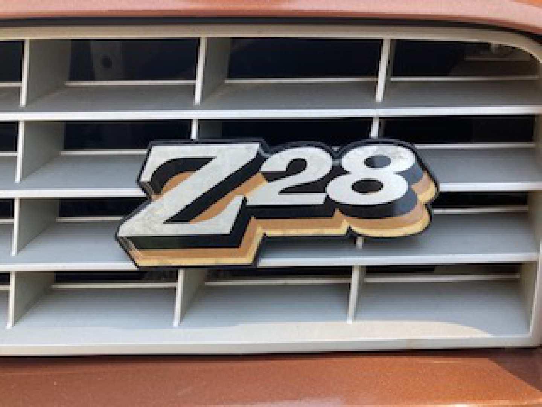 7th Image of a 1978 CHEVROLET CAMARO Z28
