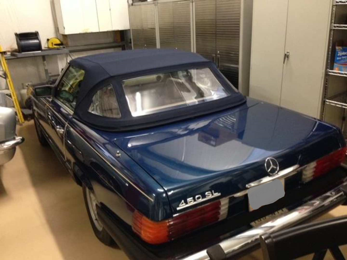 2nd Image of a 1979 MERCEDES-BENZ 450 SL