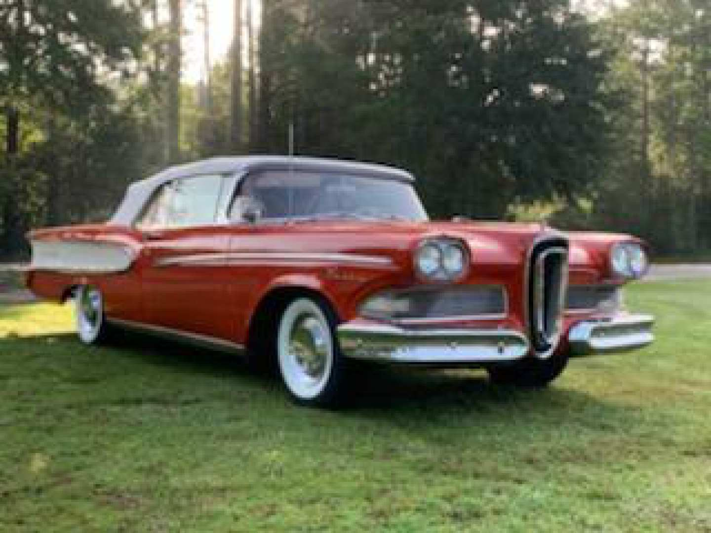 3rd Image of a 1958 FORD EDSEL PACER