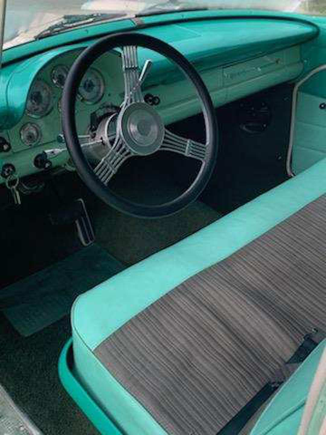 7th Image of a 1956 FORD COUNTRY SEDAN