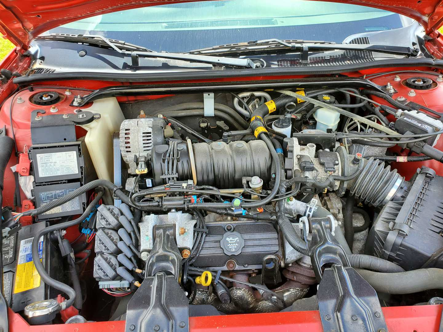 10th Image of a 2003 CHEVROLET MONTE CARLO SS