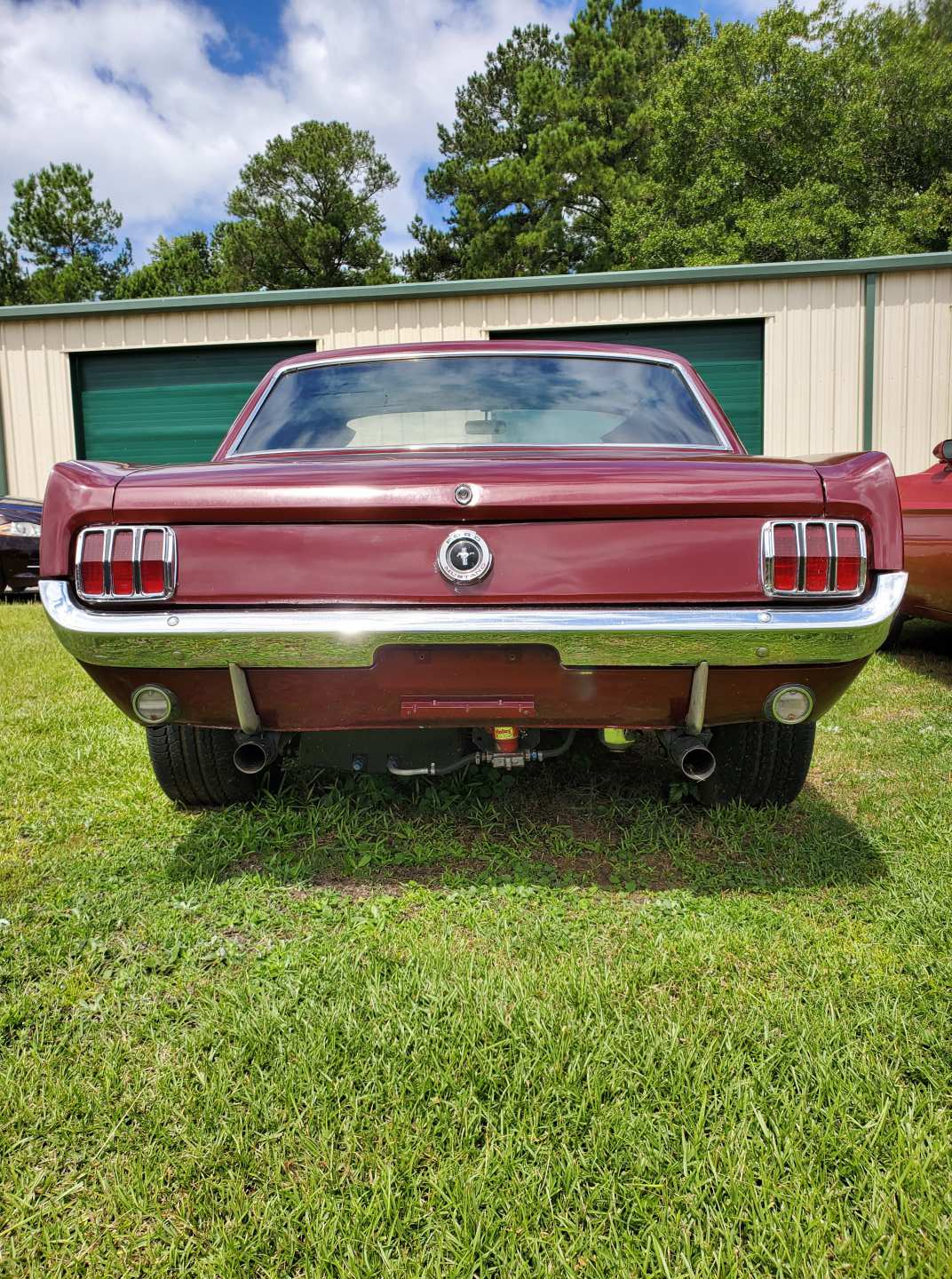 2nd Image of a 1965 FORD MUSTANG