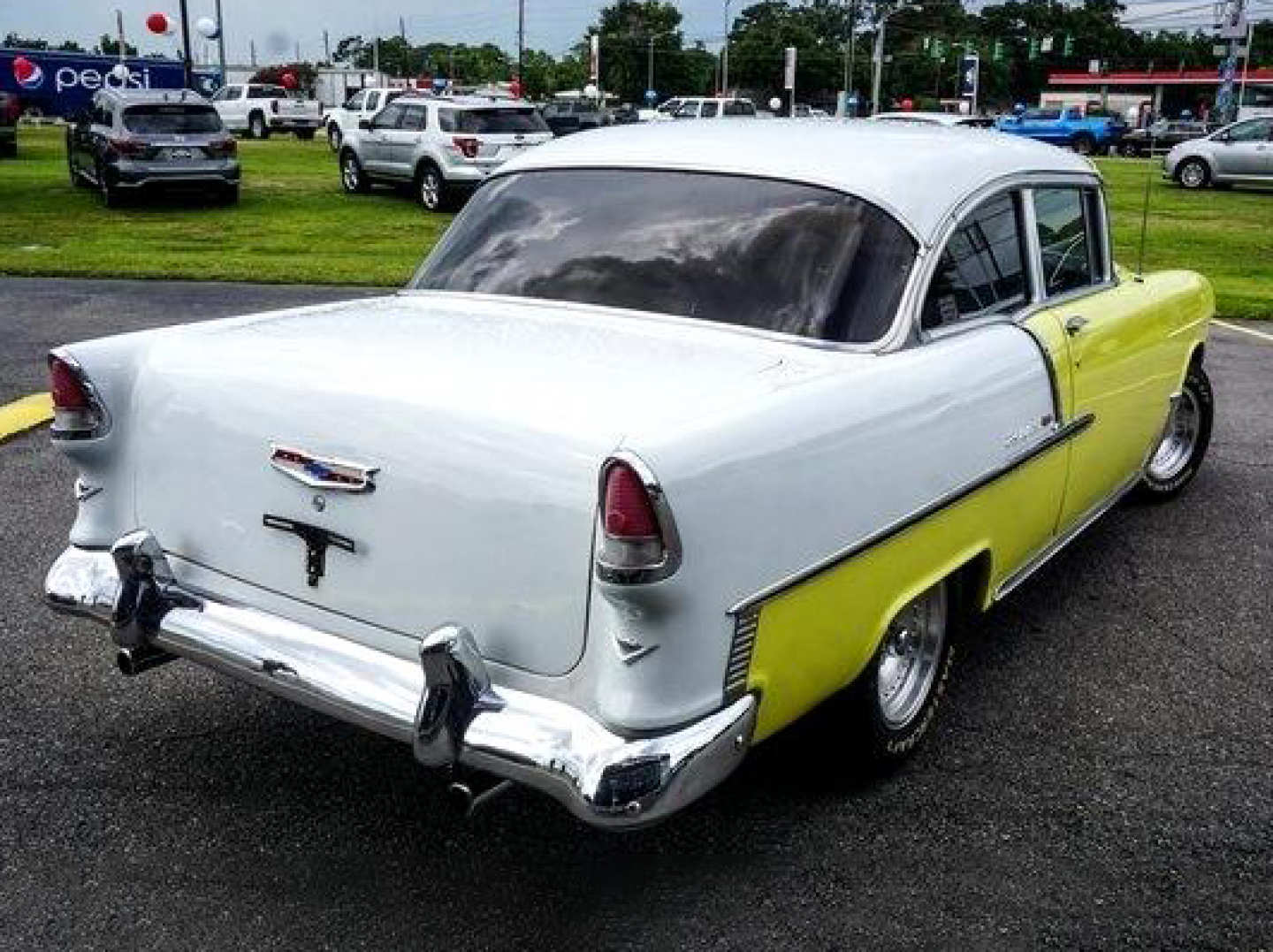 10th Image of a 1955 CHEVROLET BELAIR