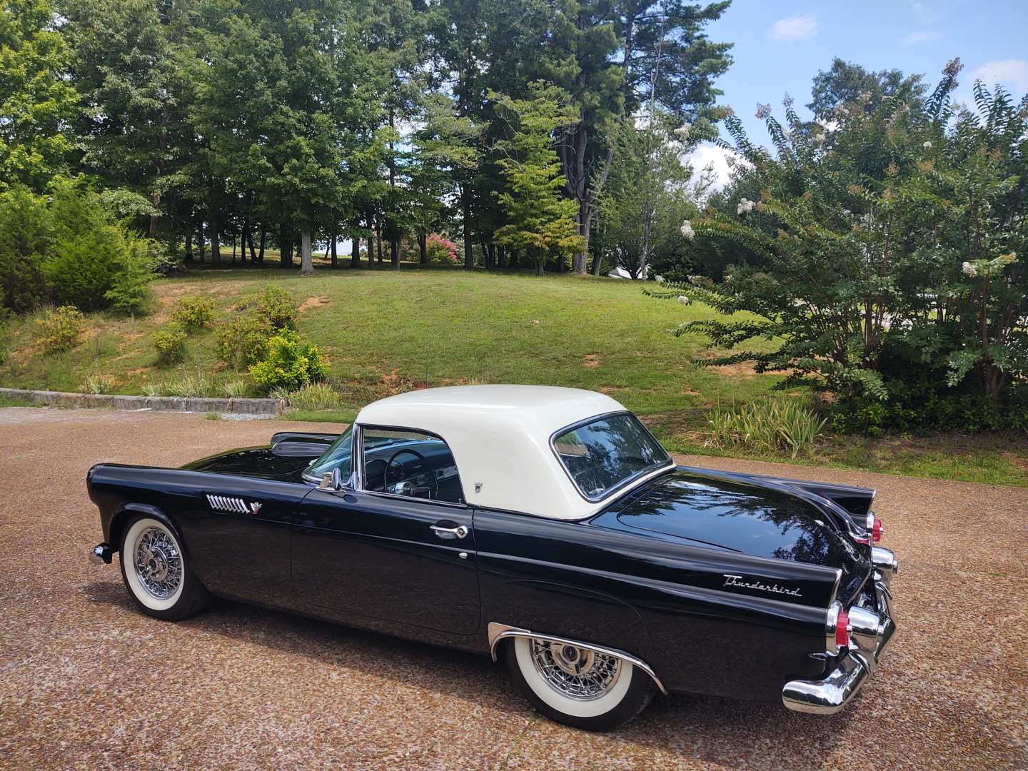 8th Image of a 1955 FORD THUNDERBIRD