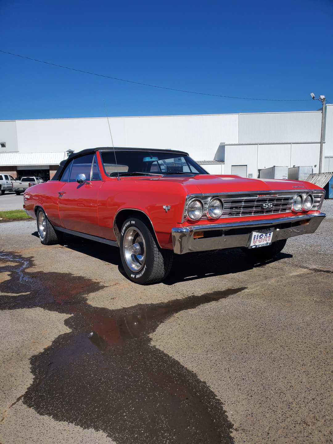 4th Image of a 1967 CHEVROLET CHEVELLE