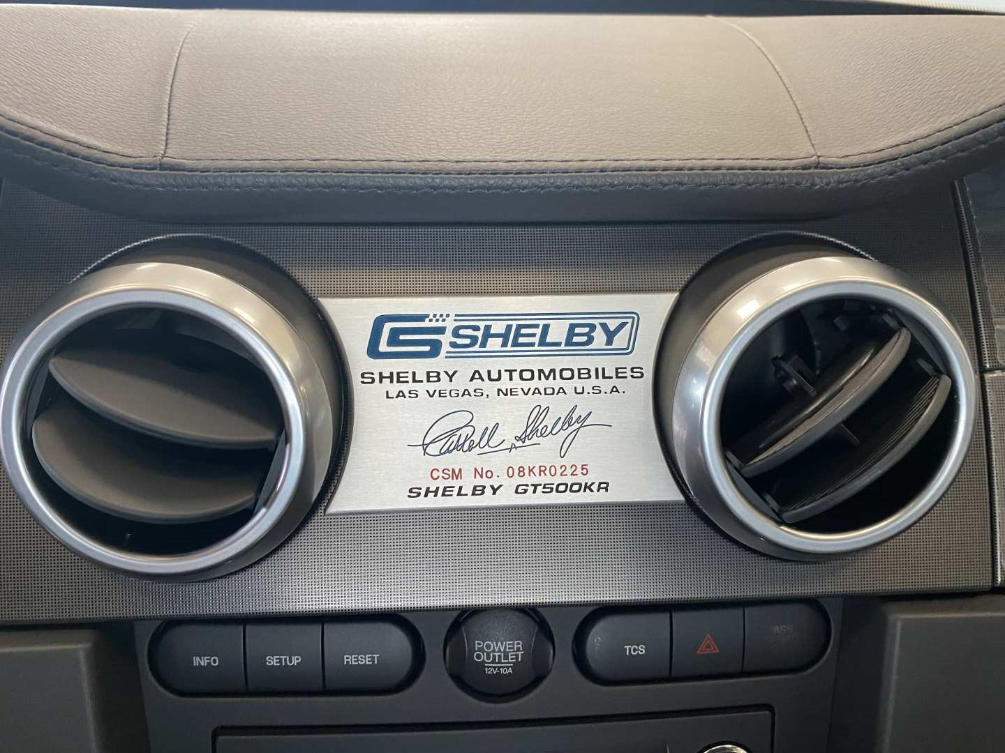 4th Image of a 2008 FORD MUSTANG SHELBY GT500