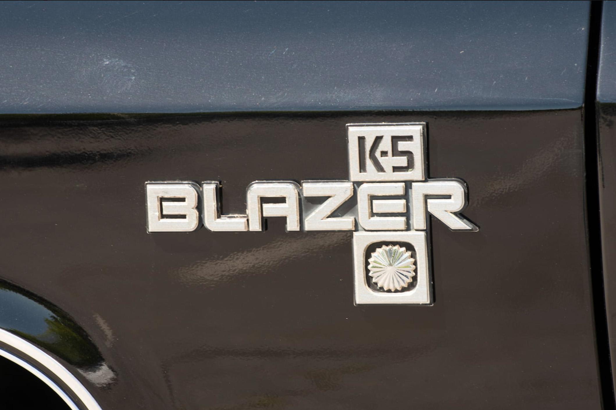 20th Image of a 1985 CHEVROLET BLAZER 1/2 TON; K5/K10