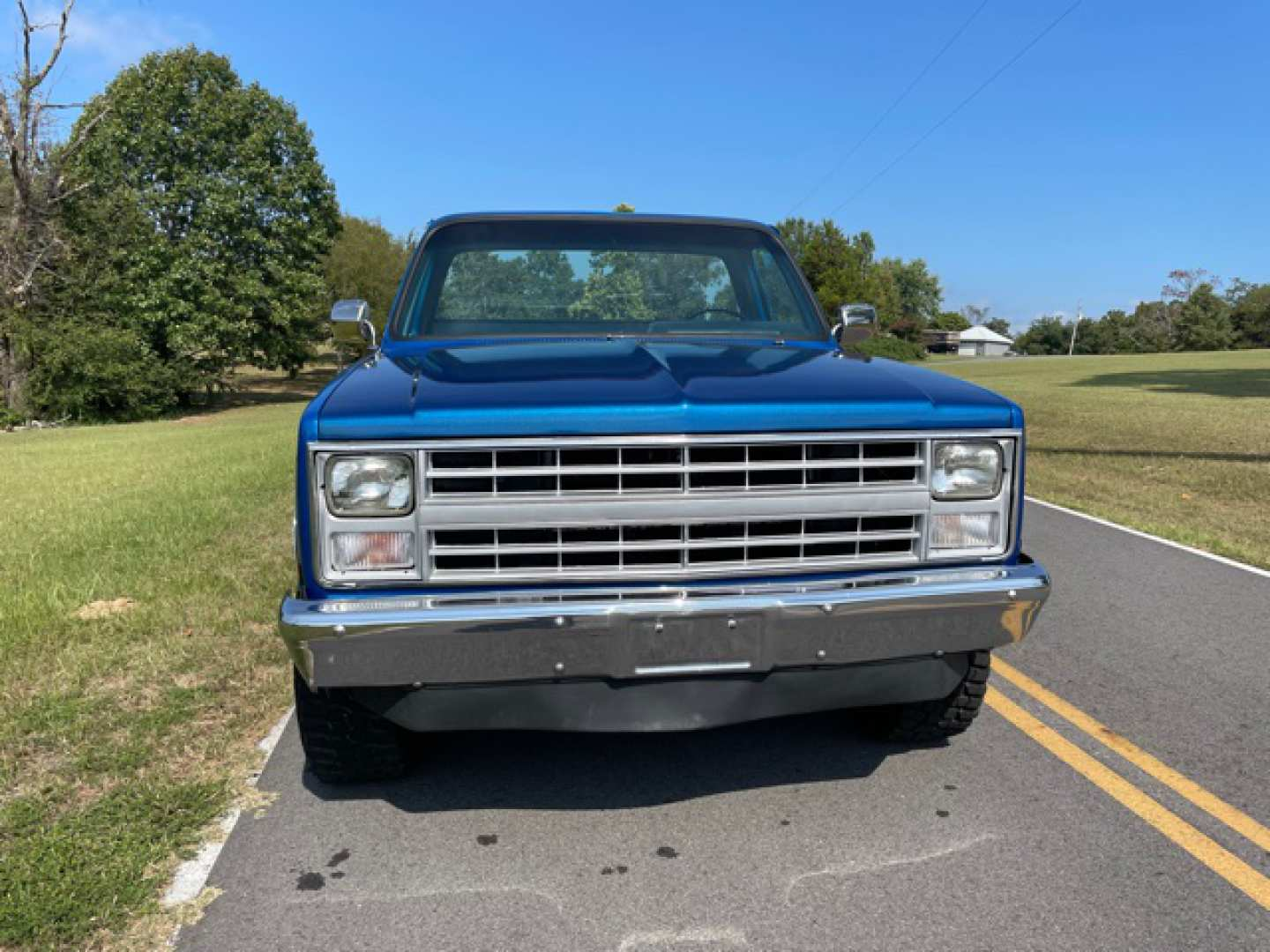 5th Image of a 1986 CHEVROLET K10