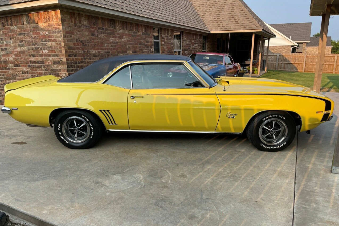 8th Image of a 1969 CHEVROLET CAMARO SS