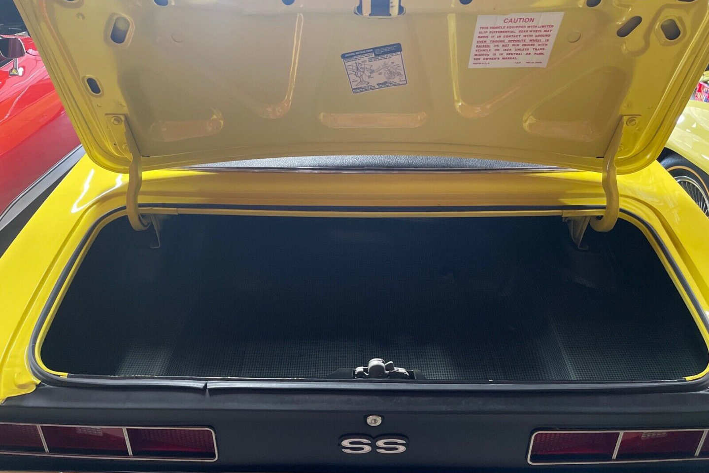 17th Image of a 1969 CHEVROLET CAMARO SS